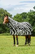 Bucas Buzz-off Zebra Full Neck Rug